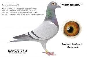 DAN073-09-2 Nr. 2 Nat. Karlsruhe. Mor til Nationalvinder Karlsruhe